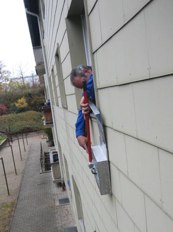 Asbestbohrverfahren aussen